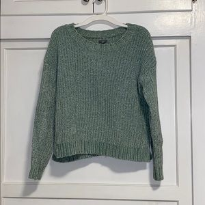 Aerie teal sweater
